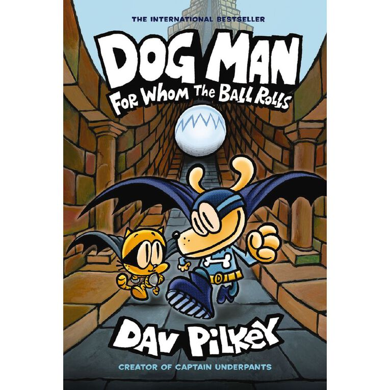 Dog Man #7 For Whom the Ball Rolls by Dav Pilkey, , hi-res