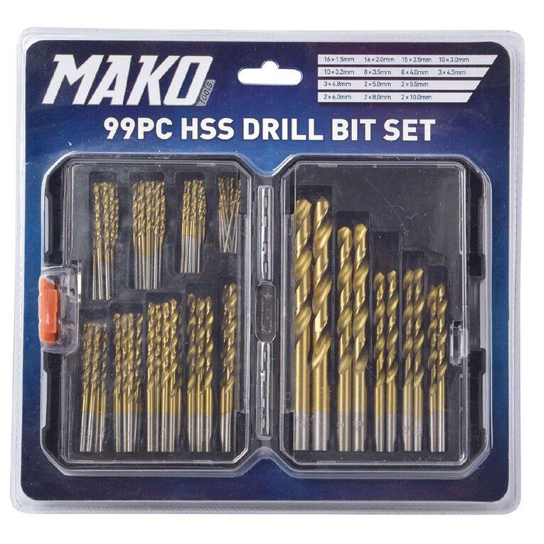 Mako Drill Bit Set 99 Piece, , hi-res