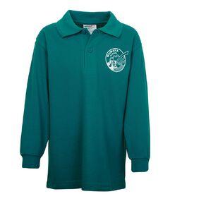 Schooltex Waimana Long Sleeve Polo with Transfer