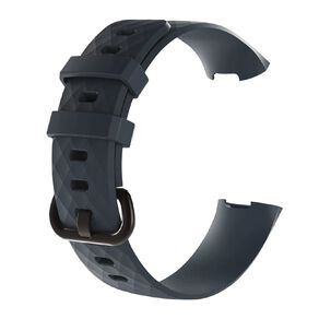 Swifty Petrol Replacement Strap For Fitbit Charge 3 & 4 Size Small
