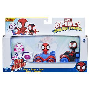 Spider-Man Spidey and Friends Mini Racer Multipack