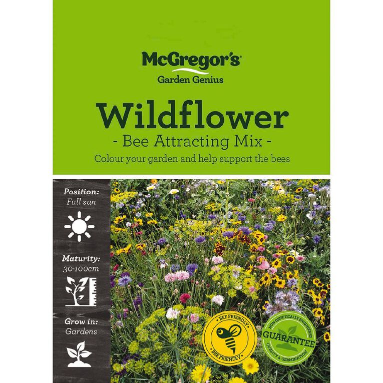 McGregor's Wildflower Bee Attraction Seed, , hi-res