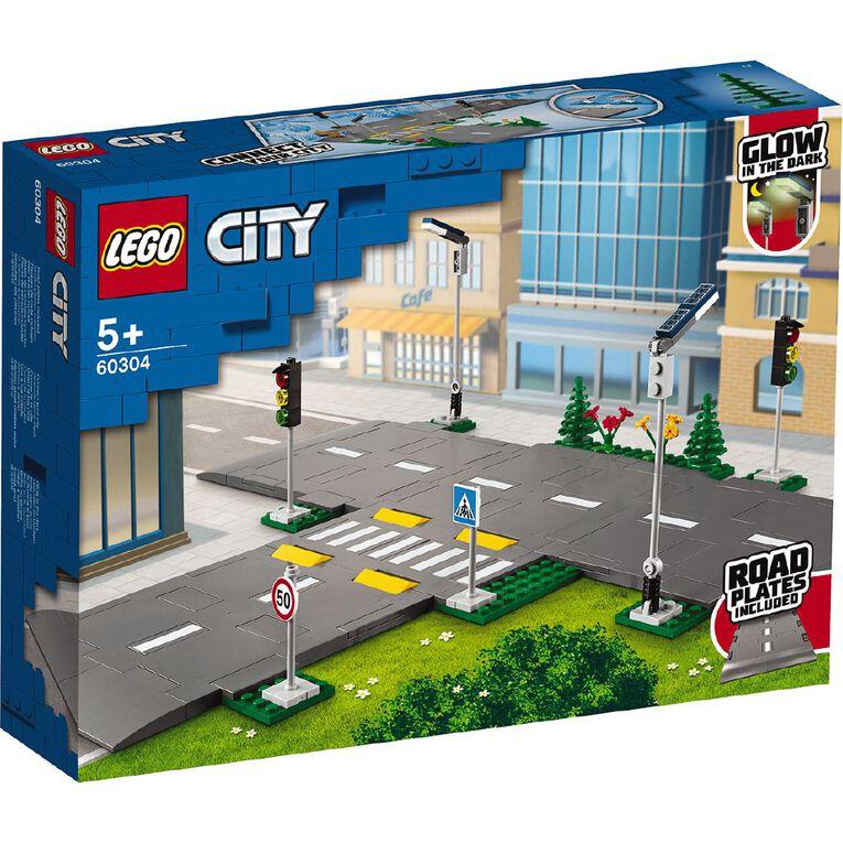 LEGO City Road Plates 60304, , hi-res
