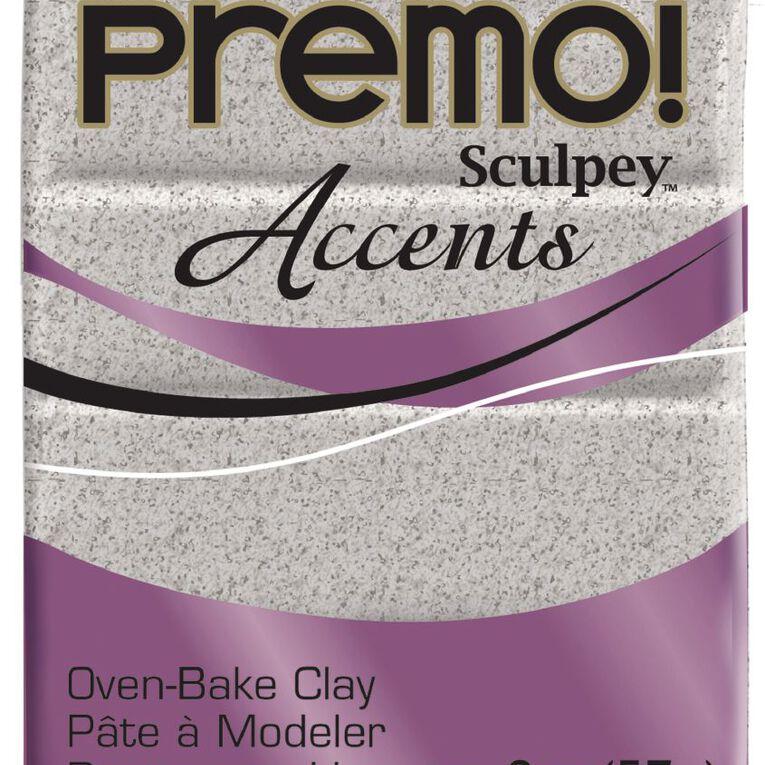 Sculpey Premo Accent Clay 57g Granite Grey, , hi-res