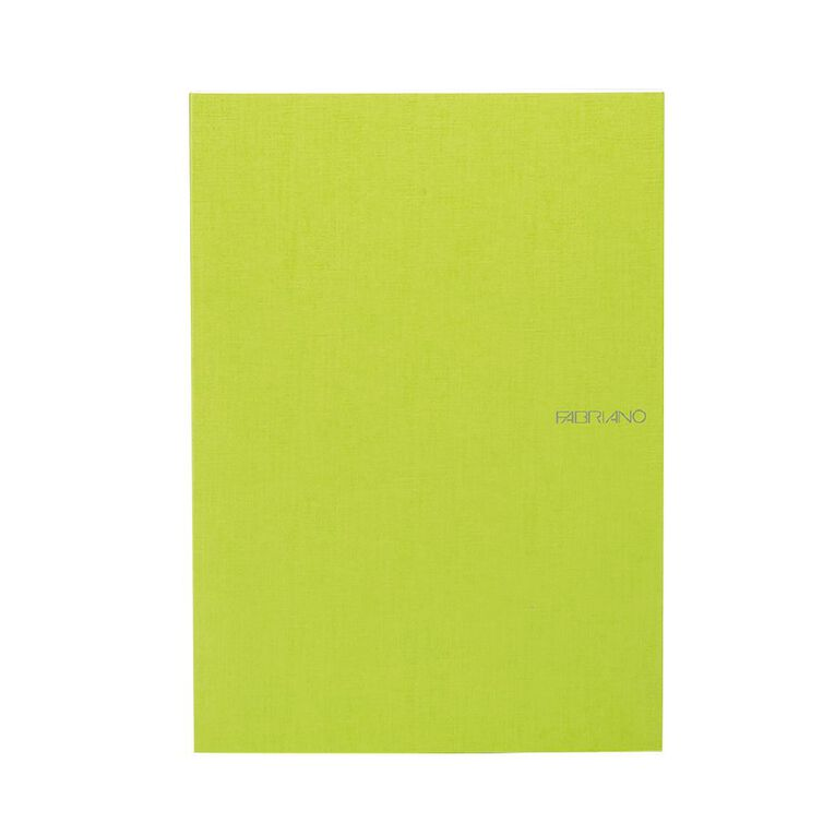 Fabriano Ecoqua Sketchbook Dotted 85GSM 90 Sheets Lime A4, , hi-res