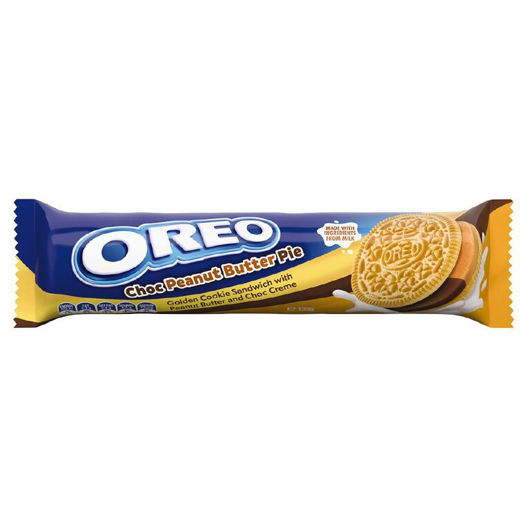 Oreo Choc Peanut Butter Pie 133g, , hi-res