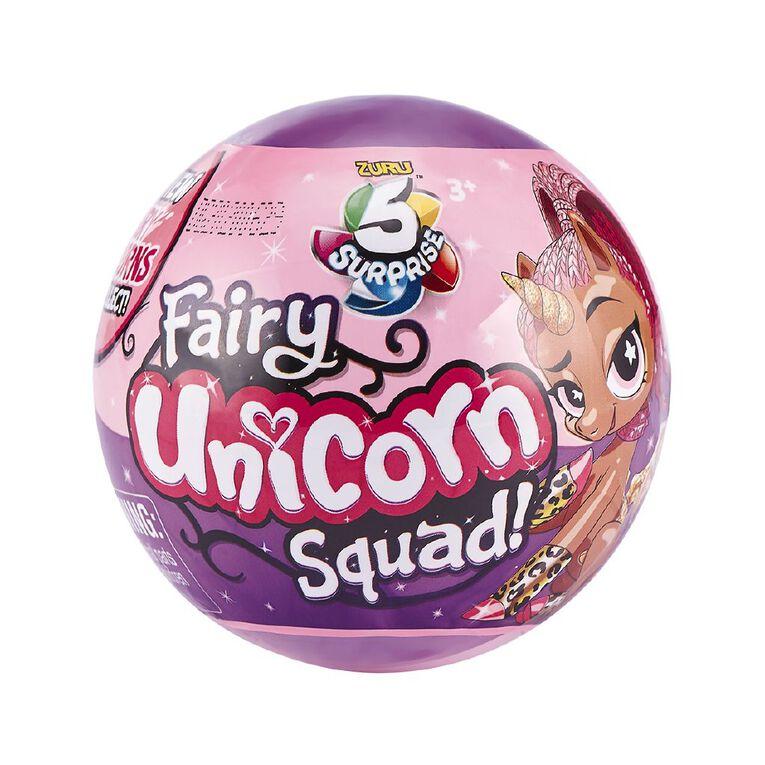 Zuru 5 Surprise Unicorn Squad Series 3 Fairy Tails Assorted, , hi-res