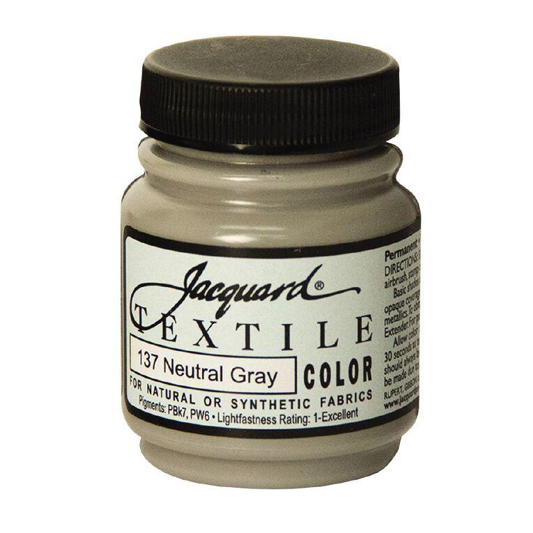Jacquard Textile Colours 66.54ml Neutral Grey, , hi-res