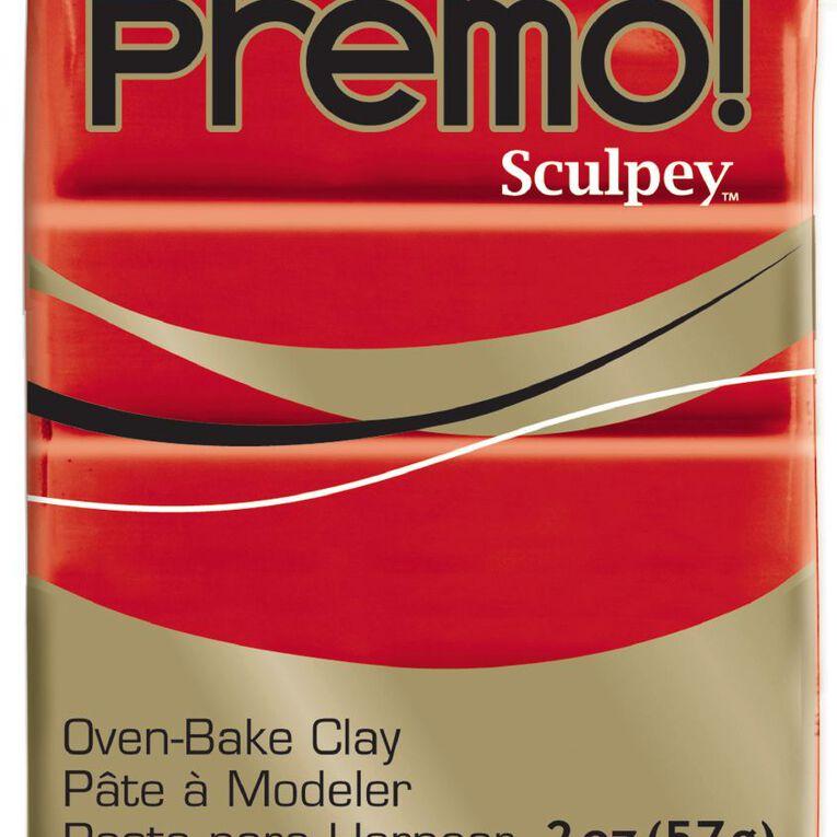 Sculpey Premo Accent Clay 57g Cadmium Hue Red, , hi-res