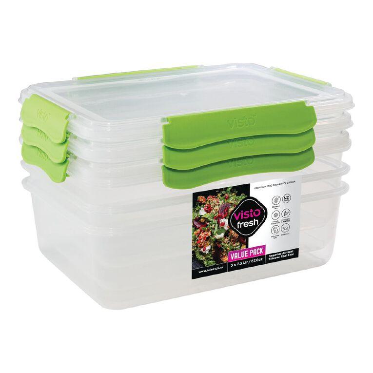 Visto Fresh storage 3 pack Assorted 2.3L, , hi-res