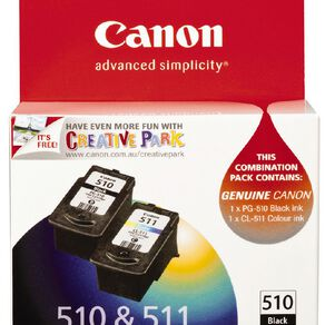 Canon Ink PG510/CL511 Combo Pack