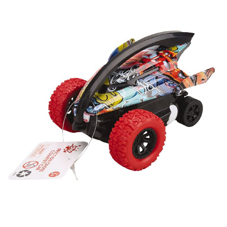 Play Studio Friction Cross-country Car, , hi-res