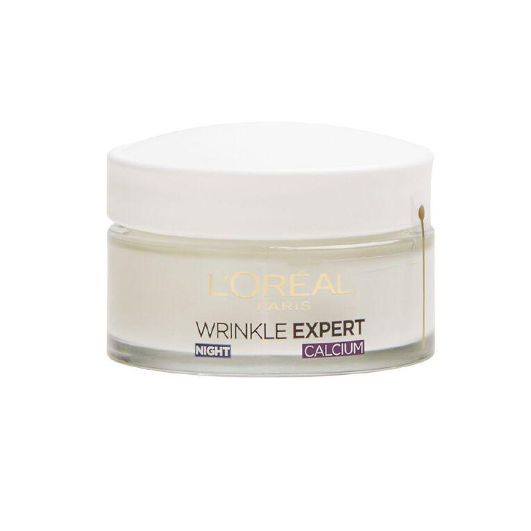 L'Oreal Paris Wrinkle Expert 55+ Night Cream 50ml, , hi-res