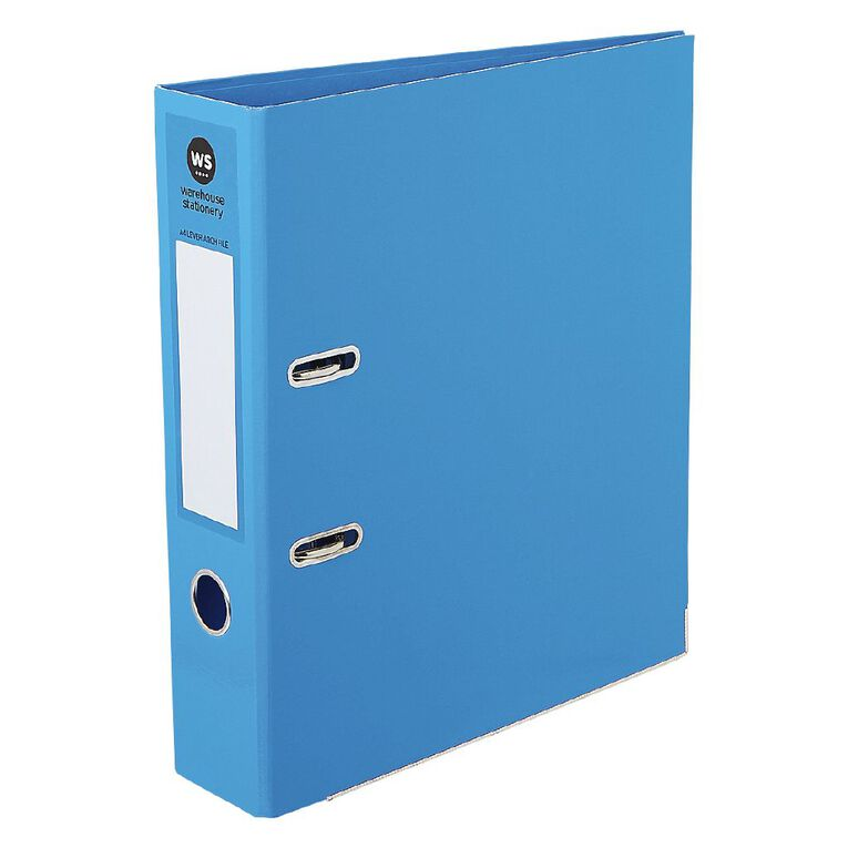 WS Lever-Arch Blue A4, , hi-res