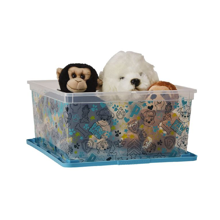 Paw Patrol Toy Box With Lid Multi-Coloured 18L, , hi-res