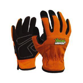 Esko Powermaxx Active Full Fingered Synthetic Work Glove Orange Large