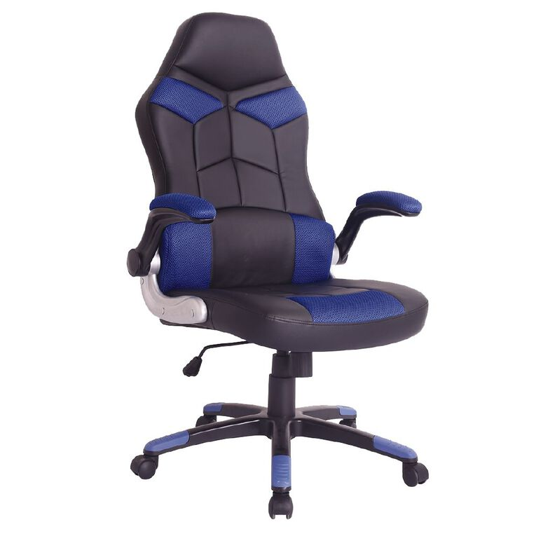 Workspace Racer Chair Blue, , hi-res