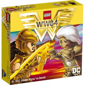 LEGO DC Super Heroes Wonder Woman vs Cheetah 76157