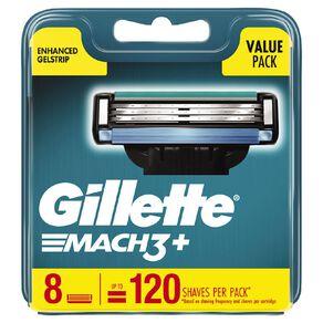 Gillette Mach3 Blades 8 Pack