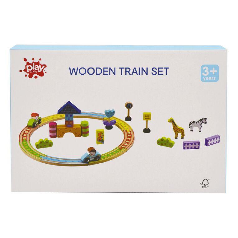 Play Studio Wooden Vehicle Set, , hi-res