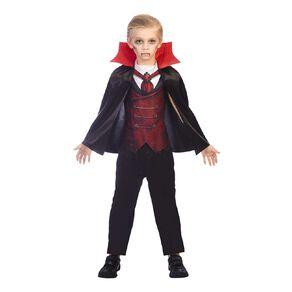 Amscan Dracula Kids Costume 5-6 Years