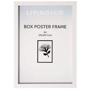 Living & Co Box Poster Frame A4