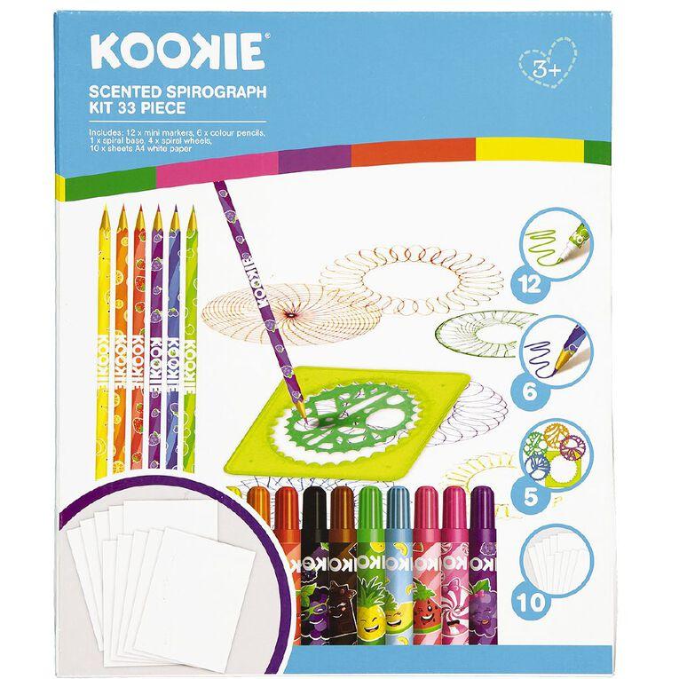 Kookie Scented Spirograph Kit 33 Piece, , hi-res