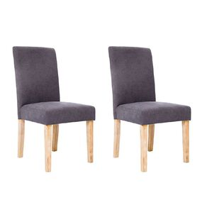 Living & Co High Back Upholstered Dining Chair 2 Pack