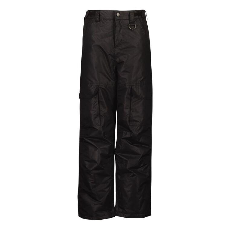 Young Original Boys' Ski Pants, Black, hi-res