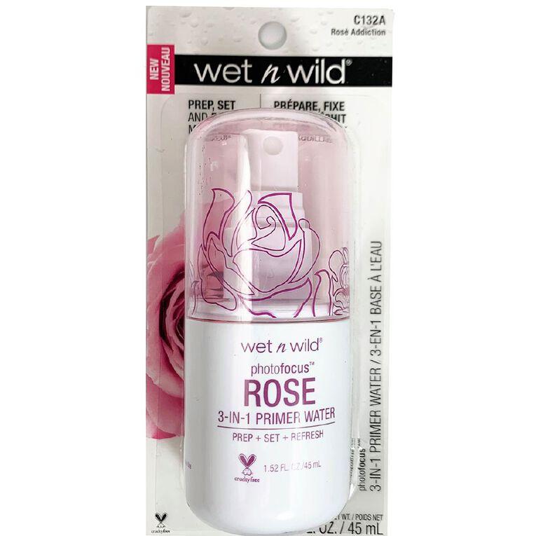 Wet n Wild Primer Water Rose Addiction, , hi-res