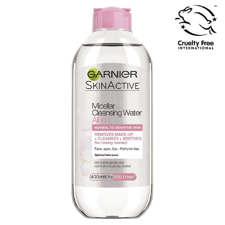 Garnier Micellar Cleansing Water 400ml, , hi-res