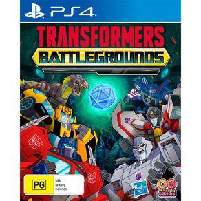 PS4 Transformers: Battle Grounds