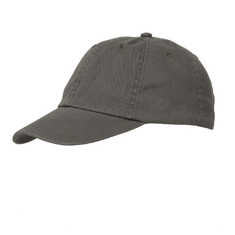 H&H Women's Washed Cap, Khaki, hi-res
