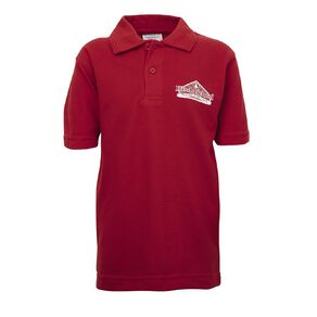 Schooltex Hinds Short Sleeve Polo with Screenprint