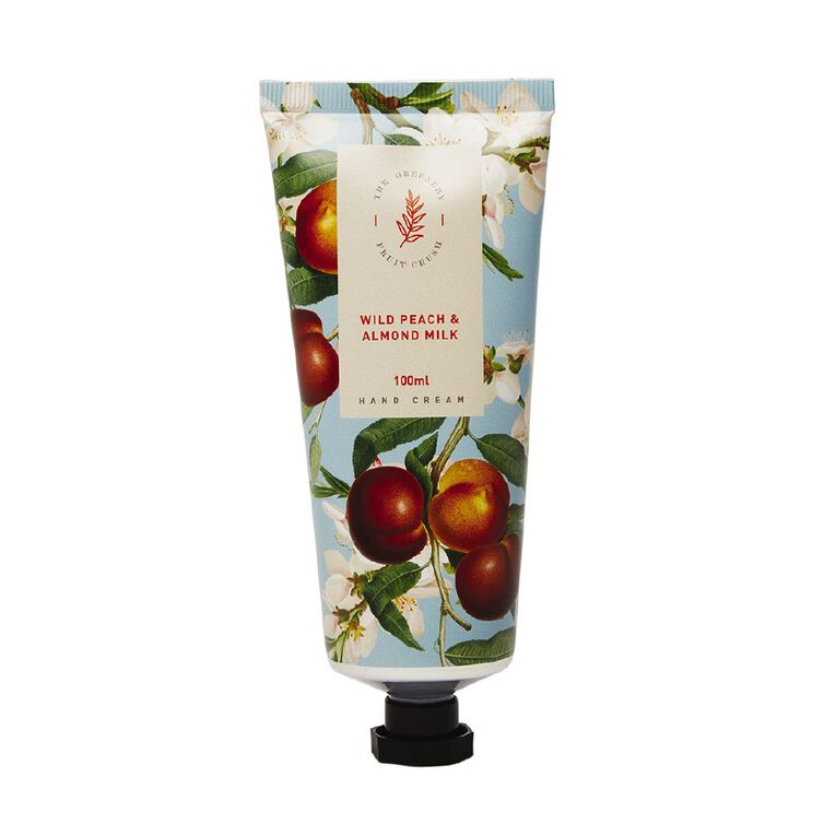 Winter Fruit Wild Peach And Almond Milk Hand Cream 100ml, , hi-res