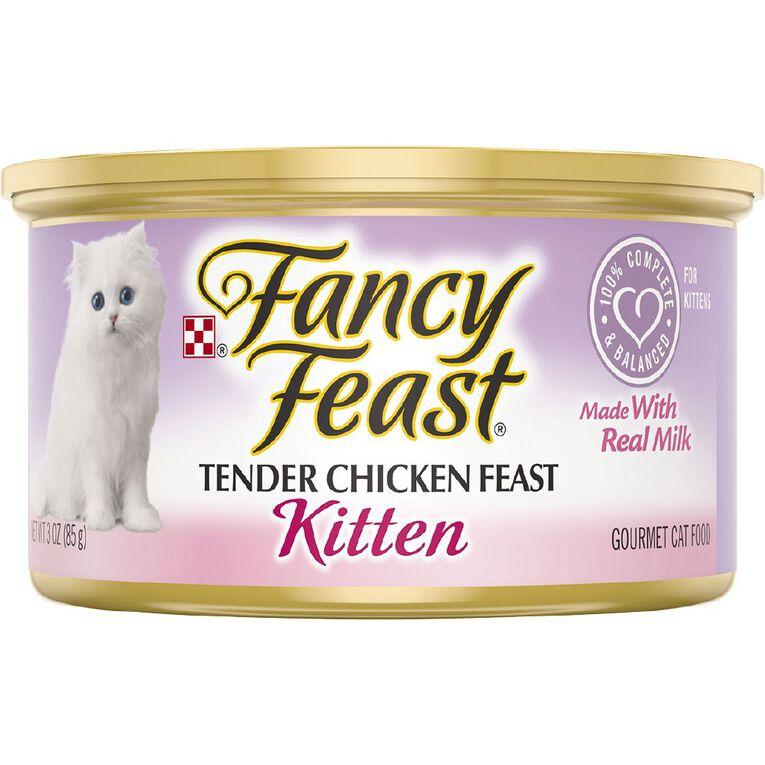 Fancy Feast Kitten Tender Chicken Feast 85g, , hi-res