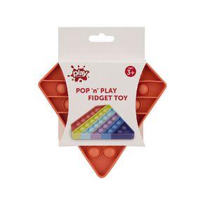 Play Studio Pop 'n' Play Fidget Toy Diamond Coral