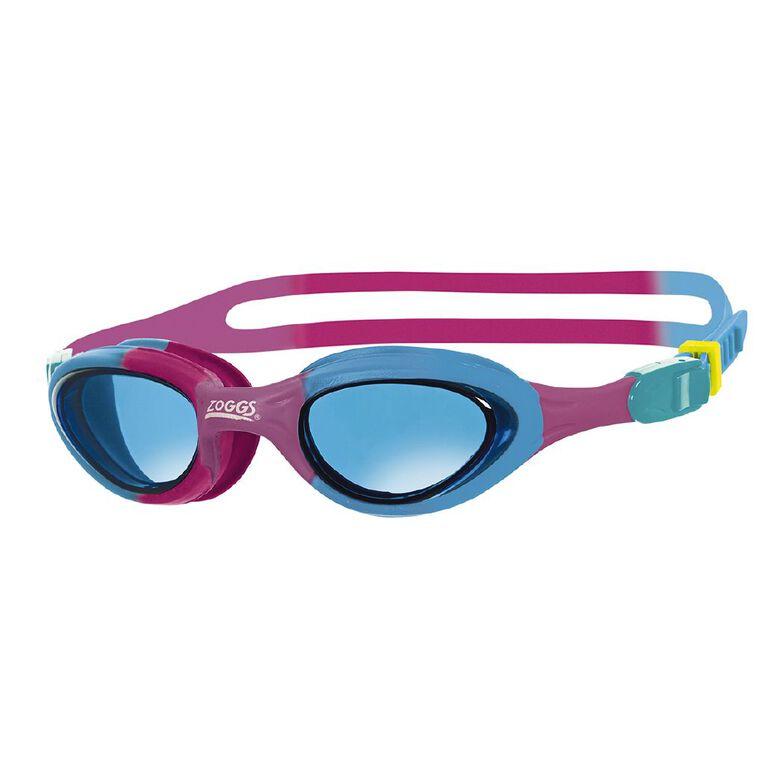 Zoggs Super Seal Junior Pink/Blue/Tint, , hi-res