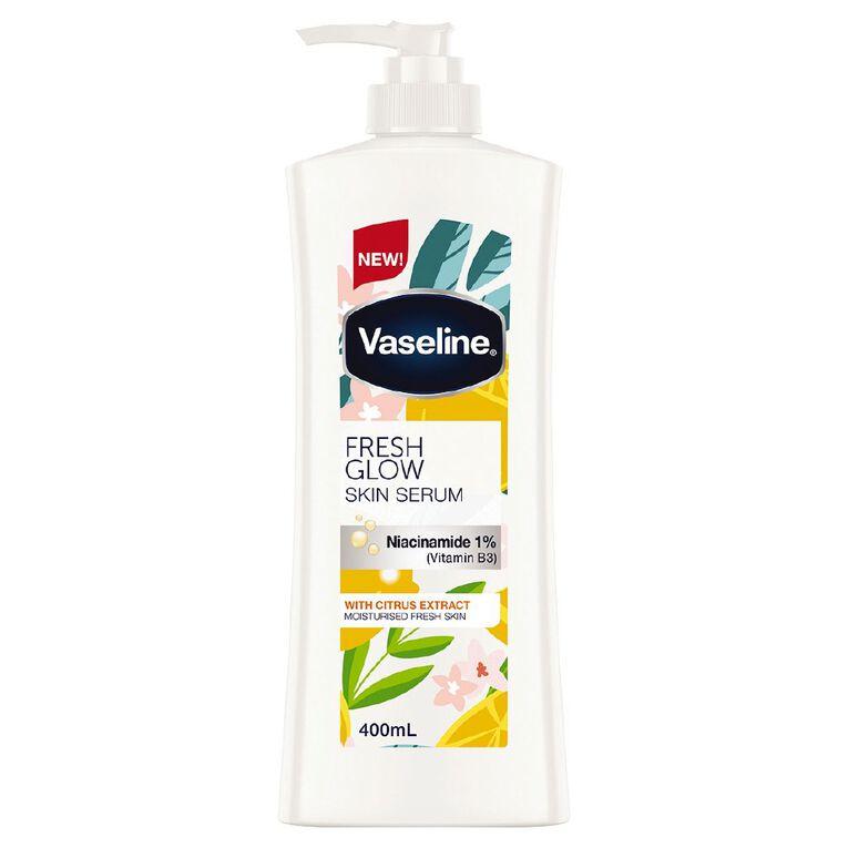 Vaseline Skin Serum Fresh Glow 400ml, , hi-res