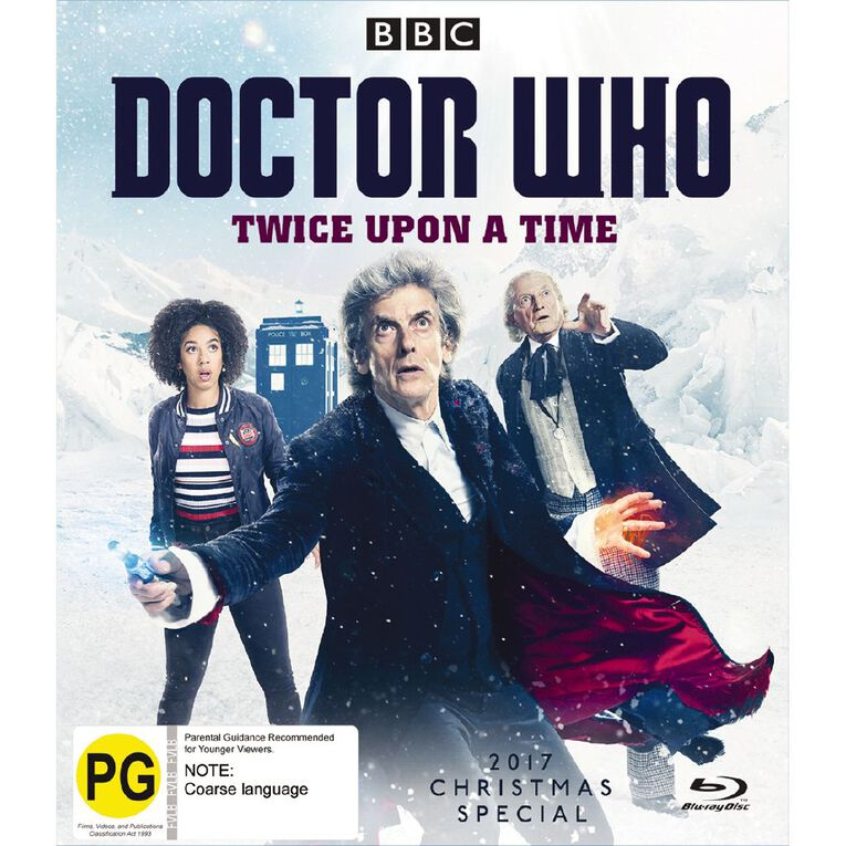 Doctor Who (2017) Twice Upon A Time Blu-ray 1Disc, , hi-res