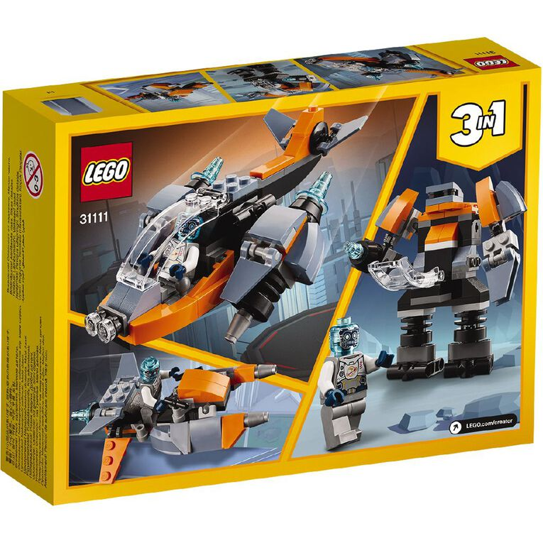 LEGO Creator Cyber Drone 31111, , hi-res