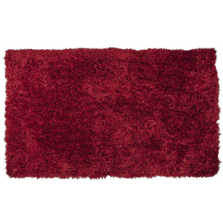 Living & Co Brooklyn Small Rug Red 70cm x 120cm, Red, hi-res