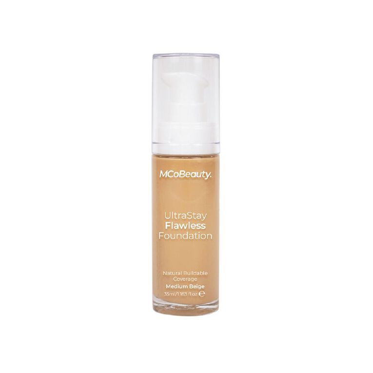 MCoBeauty Ultra Stay Luminous Longwear Foundation - Medium Beige, , hi-res image number null