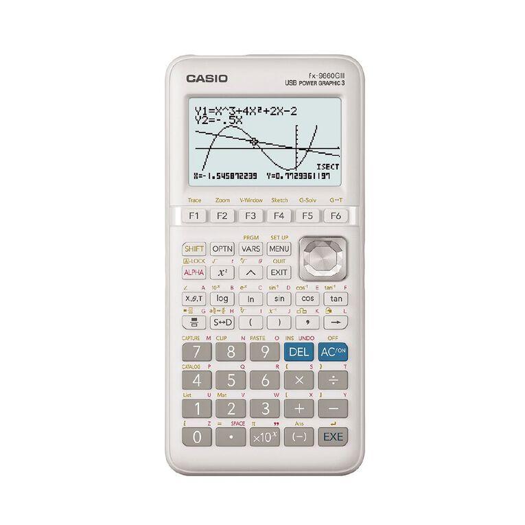 Casio FX9860GIII Graphic Calculator, , hi-res