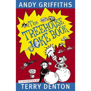 The Treehouse Joke Book by Andy Griffiths and Terry Denton