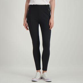 H&H Women's Ponti Pull On Pants