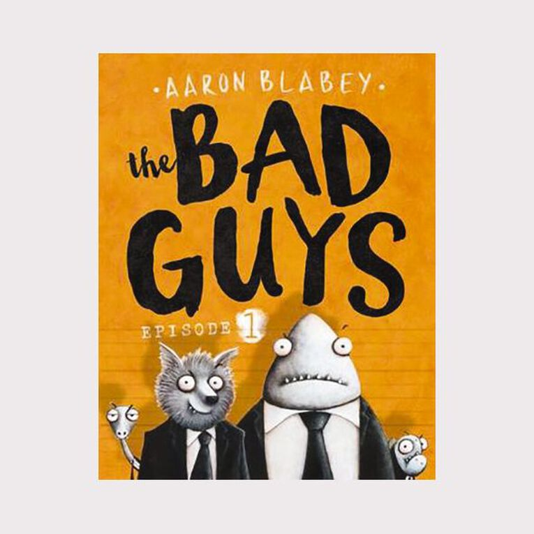 Bad Guys #1 by Aaron Blabey, , hi-res