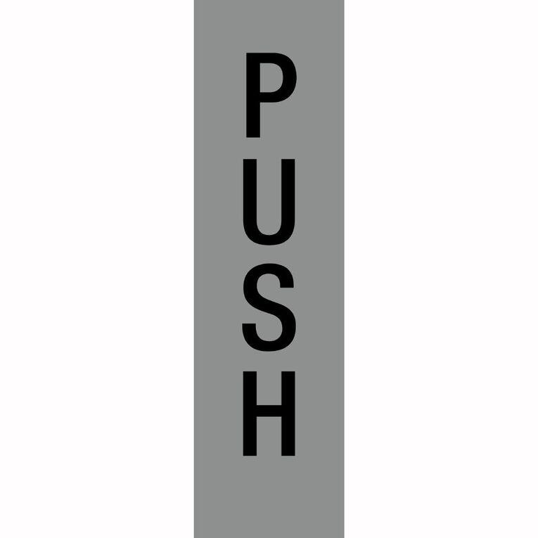 APLI Self Adhesive Push Silver, , hi-res