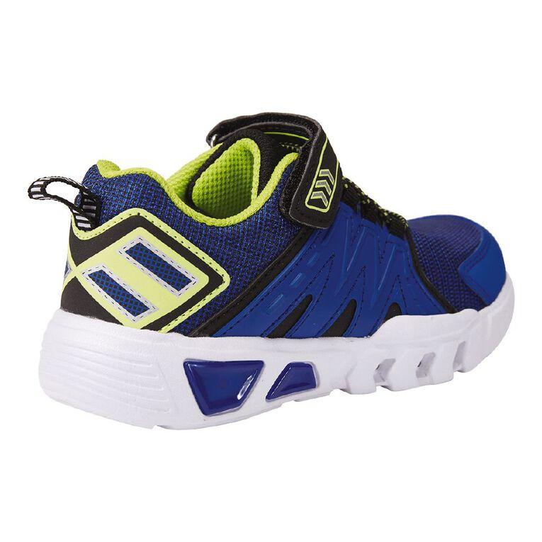 Active Intent Kids' Lumin Lights Shoes, Blue, hi-res