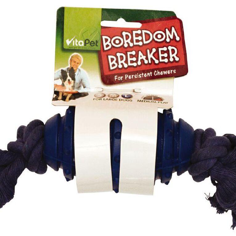 Vitapet Boredom Breaker Rubber Dog Toy Large Assorted, , hi-res